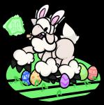 ambiguous_gender animated anthro caprine ear_piercing easter egg gail holidays mammal piercing sheep sheep_(artist)Rating: SafeScore: 2User: SpezziesheepDate: April 24, 2017