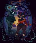 alligator anthro baseball_bat bea_(nitw) boots breasts cat cigarette clothing crocodilian dress feline footwear legwear mae_(nitw) mammal night_in_the_woods outside pants red_eyes reptile scalie shirt smoking stockings thick_thighs wolftang yellow_scleraRating: SafeScore: 10User: Bed_HeadDate: July 26, 2017