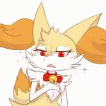 2017 <3 animated anthro bell braixen canine fan_character fangs female fortuna_(unknownlifeform) fur heart_nose inner_ear_fluff mammal nintendo open_mouth orange_fur pokémon pokémon_(species) reaction_image red_eyes simple_background solo sparkling unknownlifeform video_games white_background white_fur yellow_furRating: SafeScore: 98User: Aegis29Date: September 04, 2017