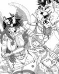 absurd_res akajesse armor axe black_and_white bow_(weapon) braided_hair canine comic dire_wolf female fox hair hi_res male mammal manga melee_weapon monochrome ranged_weapon shiarah stovl warriors weapon wolfRating: SafeScore: 3User: ShiarahSilverDate: May 17, 2018
