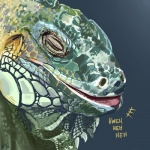 ambiguous_gender feral furikake green_scales grey_background horn iguana laugh lizard reptile scales scalie simple_background soloRating: SafeScore: 19User: MaraxxusDate: September 05, 2012