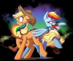 2015 alpha_channel apple applejack_(mlp) bedroom_eyes bite blonde_hair blush cute cutie_mark duo earth_pony equine eyelashes feathered_wings feathers female female/female food freckles friendship_is_magic fruit full-length_portrait green_eyes hair half-closed_eyes hat horse looking_back makeup mammal mascara mingraine multicolored_hair my_little_pony nude open_mouth pegasus pony portrait purple_eyes rainbow rainbow_dash_(mlp) rainbow_hair scrunchy_face seductive shadow signature simple_background smoke surprise teeth tongue transparent_background wide_eyed wingsRating: SafeScore: 15User: GlimGlamDate: January 21, 2018