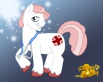 + <3 blue_eyes crossgender cutie_mark earth_pony equine feral flat_colors friendship_is_magic fur hair honey_drop hooves horse looking_aside looking_at_viewer male mammal medical my_little_pony nude nurse nurse_redheart_(mlp) pink_hair pony short_hair side_view smile solo stethoscope toony white_fur
