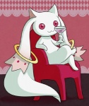 ambiguous_gender barefoot beverage chair cocktail_glass crossed_legs feral fur holding_cup incubator_(species) kyubey low_res nude pink_eyes puella_magi_madoka_magica sitting solo unknown_artist white_furRating: SafeScore: 16User: SpaceAnimalDioDate: February 15, 2013