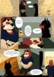 angellove44 anthro black_hair brown_nose canine claws clothed clothing comic dialogue dingo dog duo english_text hair hi_res kale_(angellove44) male mammal muscular muscular_male poodle purple_eyes size_difference text wolf yellow_eyesRating: SafeScore: 8User: pressfarttocontinueDate: July 17, 2017