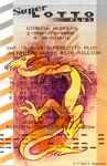 2002 4_toes amara_telgemeier ambiguous_gender dragon eastern_dragon featureless_crotch feral lotto low_res open_mouth red_eyes scalie scan solo spade_tail spread_legs spreading toes tongue tongue_out yellow_body