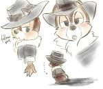 ... 2011 4_fingers anthro black_nose blush bottomless brown_fur cheek_tuft chico110 chip_'n_dale_rescue_rangers chip_(cdrr) chipmunk clothed clothing colored_sketch dialogue disney english_text fur half-closed_eyes hat jacket looking_at_viewer mammal open_mouth reaching rodent simple_background small_tail text tuft white_backgroundRating: SafeScore: 0User: BooruHitomiDate: September 24, 2017