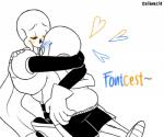 <3 animated_skeleton blush bone clothing english_text evilbeetle eyes_closed hug humanoid kissing male male/male not_furry papyrus_(undertale) sans_(undertale) simple_background skeleton smile text undead undertale video_games white_backgroundRating: SafeScore: -1User: Nicklo6649Date: April 19, 2018
