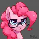 2018 blue_eyes cute earth_pony equine eyelashes eyewear female feral friendship_is_magic frown fur glasses grey_background hair headshot_portrait hi_res horse inner_ear_fluff inowiseei makeup mammal mascara my_little_pony pink_hair pinkie_pie_(mlp) pony portrait reaction_image serious serious_face signature simple_background soloRating: SafeScore: 18User: GlimGlamDate: February 21, 2018