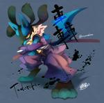 black_fur blue_fur digitigrade fur japanese_text lucario melee_weapon nintendo pokémon sumizakura sword text video_games weapon yellow_fur yellow_yesRating: SafeScore: 0User: Rad_DudesmanDate: March 27, 2017