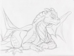 black_and_white dragon dragonheart dragonheart_2 drake_(dragonheart) feral hi_res male membranous_wings monochrome narse scalie simple_background sketch solo white_background wingsRating: SafeScore: 12User: TauxieraDate: July 01, 2010