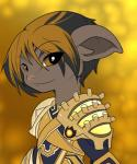 armor asura black_hair brown_skin cute guild_wars hair hi_res highlights humanoid simple_background smile solo twili_z video_games yellow_eyesRating: SafeScore: 10User: SpoonmanDate: February 14, 2017