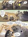 ambiguous_gender brown_fur comic feline female feral fur hyena laphund lion mammal spots spotted_fur text tongueRating: SafeScore: 17User: Eagle0600Date: April 18, 2018