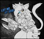 2017 anthro big_breasts breasts cat cybernetics cyborg english_text feline female machine mammal oblivionrising solo textRating: SafeScore: 1User: RobinebraDate: February 26, 2017
