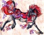 ambiguous_gender equine feral hooves horse mammal markings pearleden solo unusual_coloringRating: SafeScore: -1User: DogenzakaDate: August 08, 2009