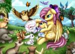 2017 absurd_res ambiguous_gender arthropod avian bird butterfly caprine duck equine fan_character female feral fluttershy_(mlp) friendship_is_magic hi_res insect mammal marine mouse my_little_pony owl pegasus pinniped pridark rodent seal sheep squirrel tagme wingsRating: SafeScore: 4User: RobinebraDate: April 25, 2017