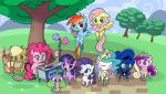 16:9 2014 applejack_(mlp) bag blue_eyes blue_fur chibi cloud collar cosmic_hair cotton_candy crown cute dragon earth_pony eating egg equine eyes_closed eyeshadow feathered_wings feathers female feral fluttershy_(mlp) flying freckles friendship_is_magic fur glowing gold_(metal) grass green_eyes group hair hi_res holding_object horn horse jewelry levitation looking_at_viewer looking_back magic makeup mammal multicolored_hair my_little_pony necklace object_in_mouth outside path pegasus pink_hair pinkie_pie_(mlp) pony princess_cadance_(mlp) princess_celestia_(mlp) princess_luna_(mlp) purple_eyes purple_fur purple_hair rainbow_dash_(mlp) rainbow_hair rarity_(mlp) scalie sky slit_pupils smile sparkles spike_(mlp) standing tree twilight_sparkle_(mlp) two_tone_hair unicorn valcron winged_unicorn wingsRating: SafeScore: 8User: 2DUKDate: March 12, 2017