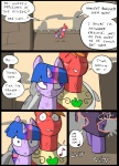 big_macintosh_(mlp) comic earth_pony equine feral friendship_is_magic group hair horn horse humming mammal metal_(artist) musical_note my_little_pony pony scratches twilight_sparkle_(mlp) unicorn