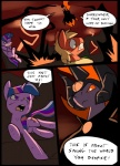battle big_macintosh_(mlp) cloak clothing comic crown cutie_mark earth_pony equine feral floating friendship_is_magic gem group hair horn horse magic mammal metal_(artist) my_little_pony pony scratches twilight_sparkle_(mlp) unicornRating: SafeScore: 1User: IndigoHeatDate: March 25, 2017