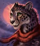 2017 anthro black_lips black_nose cheetah detailed_background digital_media_(artwork) feline female flashw fur mammal no_sclera outside scarf smile solo spots spotted_fur teeth tongueRating: SafeScore: 8User: MillcoreDate: November 21, 2017