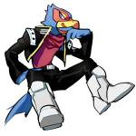 2017 anthro avian belt bird black_nose blue_eyes boots clothing falco_lombardi footwear jacket male nintendo scarf solo star_fox video_games 山羊Rating: SafeScore: 8User: Cane751Date: May 07, 2017
