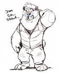 2016 anthro bear claws clothed clothing fur male mammal panda sketch super-tuler tairuRating: SafeScore: 2User: Rysaerio-MisoeryDate: December 12, 2017