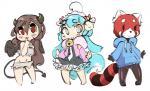 angel anthro bit_(bit-small) caprine clothing cute demon dress fallen_angel female fluffy girly group horn legwear mammal red_panda scorci scorci_(character) sheep tightsRating: SafeScore: 4User: ScorciDate: May 10, 2017