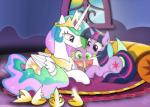 2017 card carpet crown cub cuddling cushion cute cutie_mark dragon dsana equine eyelashes feathered_wings feathers female friendship_is_magic green_eyes group hair holidays horn inside male mammal mother's_day multicolored_hair my_little_pony princess_celestia_(mlp) purple_eyes sitting slit_pupils smile spike_(mlp) sun twilight_sparkle_(mlp) unicorn window winged_unicorn wings young