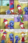 2012 absurd_res blue_eyes blue_feathers blue_hair blush book ciriliko clothing comic creeper crossover cutie_mark duo equine feathered_wings feathers female feral friendship_is_magic hair hi_res horn mammal minecraft monkey_d._luffy my_little_pony one_piece parody photo princess_luna_(mlp) scarf slenderman south_park stan_marsh video_games winged_unicorn wings youngRating: SafeScore: 5User: FalordDate: December 12, 2012