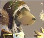 ambiguous_gender anthro canine digital_media_(artwork) dog hat headshot_portrait low_res mammal mr_dog oekaki portrait soloRating: SafeScore: 2User: mscDate: March 21, 2007