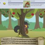 apple apple_tree bitterplaguerat bush earth_pony equine feral food fruit hiding horse loki_(bitterplaguerat) mammal my_little_pony pony solo textRating: SafeScore: -2User: Aryanne_HooflerDate: April 25, 2017