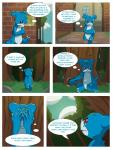 blue_body comic crossover dialogue digimon english_text forest love male oriont park red_eyes sad speech_bubble text thought_bubble tree vee_stitch veemonRating: SafeScore: 9User: vee_stitchDate: March 07, 2018