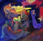 alcohol amara_telgemeier anthro bar beverage brown_eyes clothing colorful digital_media_(artwork) digital_painting_(artwork) drinking duo ear_piercing food hyena male mammal piercing shirt sittingRating: SafeScore: 3User: mscDate: March 24, 2007