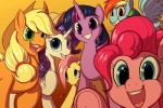 2017 applejack_(mlp) blonde_hair blue_eyes cutie_mark derpy_hooves_(mlp) earth_pony equine feathered_wings feathers female feral fluttershy_(mlp) freckles friendship_is_magic goattrain green_eyes group hair hat hooves horn horse long_hair looking_at_viewer mammal my_little_pony open_mouth open_smile pegasus pink_hair pinkie_pie_(mlp) pony purple_eyes rainbow_dash_(mlp) rarity_(mlp) smile twilight_sparkle_(mlp) unicorn wingsRating: SafeScore: 0User: lemongrabDate: March 26, 2017