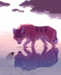 akitamonster canine day duo feral fur green_eyes mammal orange_fur outside partially_submerged reflection reptile scalie standing turtle wolfRating: SafeScore: 7User: MillcoreDate: April 25, 2017