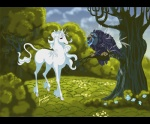 amalthea avian bird cloud detailed_background duo equine female feral grass hooves horn mammal nature outside owl sighthoundlady sky the_great_owl the_last_unicorn the_secret_of_nimh tree unicorn woodRating: SafeScore: 13User: TauxieraDate: October 31, 2009