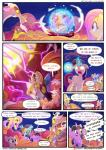 2017 absurd_res applejack_(mlp) comic discord_(mlp) equine explosion female fluttershy_(mlp) friendship_is_magic glowing glowing_eyes hi_res horn horse light262 male mammal my_little_pony pegasus pinkie_pie_(mlp) pony rainbow_dash_(mlp) rarity_(mlp) twilight_sparkle_(mlp) unicorn winged_unicorn wings