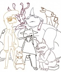 anthro camelid caprine cervine clothed clothing disney eyewear fan_character glasses goat group hooves horn jacket llama mammal pack_street phone pig porcine pose reindeer rhinoceros sitting size_difference sofa sunglasses teeth the_weaver wool zootopiaRating: SafeScore: 7User: CorniscopicDate: March 23, 2017