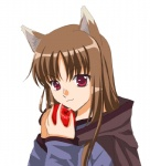 animal_humanoid animated apple blush brown_hair cat_humanoid eating eyes_closed fangs feline female food fruit hair happy horo humanoid mammal red_eyes solo spice_and_wolf unknown_artistRating: SafeScore: 3User: Kitsu~Date: August 08, 2009