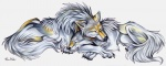 ambiguous_gender canine duo eyes_closed feral mammal pearleden sleeping tattoo unusual_coloringRating: SafeScore: 3User: DogenzakaDate: August 08, 2009