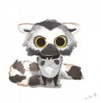 2015 :c ambiguous_gender antanariva anthro big_eyes chibi collar crossed_arms fur lemur looking_at_viewer mammal primate reaction_image solo standing toonyRating: SafeScore: 3User: Cat-in-FlightDate: July 20, 2017