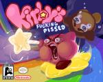 2014 alien angry cloud crying duo english_text esrb falling game_grumps humor kirby kirby_(series) lol_comments magic male nintendo not_furry open_mouth parody profanity rainbow red_eyes sir_the_artist star star_rod tears teeth text video_games waddle_dee waddling_head what