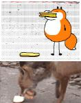 ambiguous_gender animated big_mouth canine dipstick_tail fangs feral food_in_mouth fox fur keke mammal multicolored_tail orange_fur real toonyRating: SafeScore: 30User: g273435dDate: May 20, 2018