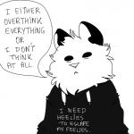 absurd_res anthro black_and_white clothing dialogue drawdroid english_text frown hi_res hoodie ian_(drawdroid) male mammal marsupial monochrome opossum solo speech_bubble text the_truthRating: SafeScore: 16User: ROTHYDate: September 06, 2017
