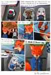 2017 absurd_res anthro canine clothed clothing comic dialogue disney english_text female fox green_eyes half-closed_eyes hi_res judy_hopps lagomorph male mammal nick_wilde peanut.k police_uniform rabbit text uniform zootopiaRating: SafeScore: 4User: Nicklo6649Date: March 12, 2018