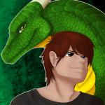 auburn_hair clothing dragon green_background green_scales high-rez horn human icy-marth looking_at_viewer looking_up male mammal scales simple_background white_outline yellow_scalesRating: SafeScore: 2User: JosstwinzDate: January 21, 2018