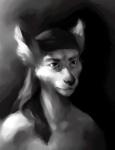 2007 anthro bust_portrait canine digital_media_(artwork) greyscale headkerchief high_contrast male mammal monochrome portrait pose solo ymxaRating: SafeScore: 2User: AnomynousDate: October 31, 2009