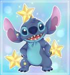 2017 4_toes alien back_markings blue_claws blue_eyes blue_fur blue_nose border chest_tuft claws cute digital_drawing_(artwork) digital_media_(artwork) disney experiment_(species) fluffy fur hands_on_hips head_tuft lilo_and_stitch looking_at_viewer markings notched_ear open_mouth open_smile outline silent-shadow-wolf simple_background smile solo sparkles standing star stitch toe_claws toes tuft watermarkRating: SafeScore: 3User: BooruHitomiDate: May 24, 2018