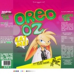 0r0 abstract_background anthro blue_eyes cereal clothed clothing darkdoomer english_text food lagomorph male mammal rabbit solo text use_the_force_luke