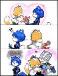 ! 2013 5_fingers :d <3 ? anthro armpits belt black_eyes black_nose black_skin blue_eyes blue_fur blue_hair blush breasts canine claws clothing comic confusion cute d: eyes_closed female fox fox_mccloud fur gloves grey_fur hair happy headgear hi_res hug humor jacket japanese krystal male male/male mammal nintendo open_mouth pants pink_skin pointy_ears purple_eyes raised_arm running sharp_teeth shirt short_hair side_boob simple_background smile spikes standing star_fox stare teeth tongue video_games white_background white_fur white_hair wolf wolf_o'donnell wolfmoon17Rating: SafeScore: 5User: slyroonDate: May 27, 2017